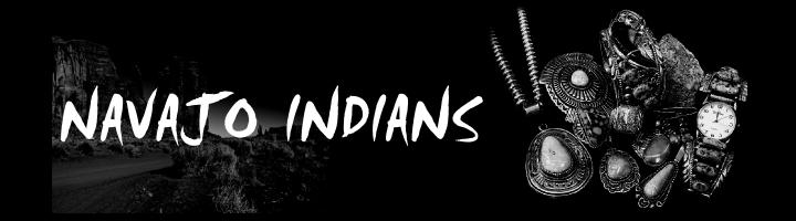 ナバホ族インディアンジュエリー